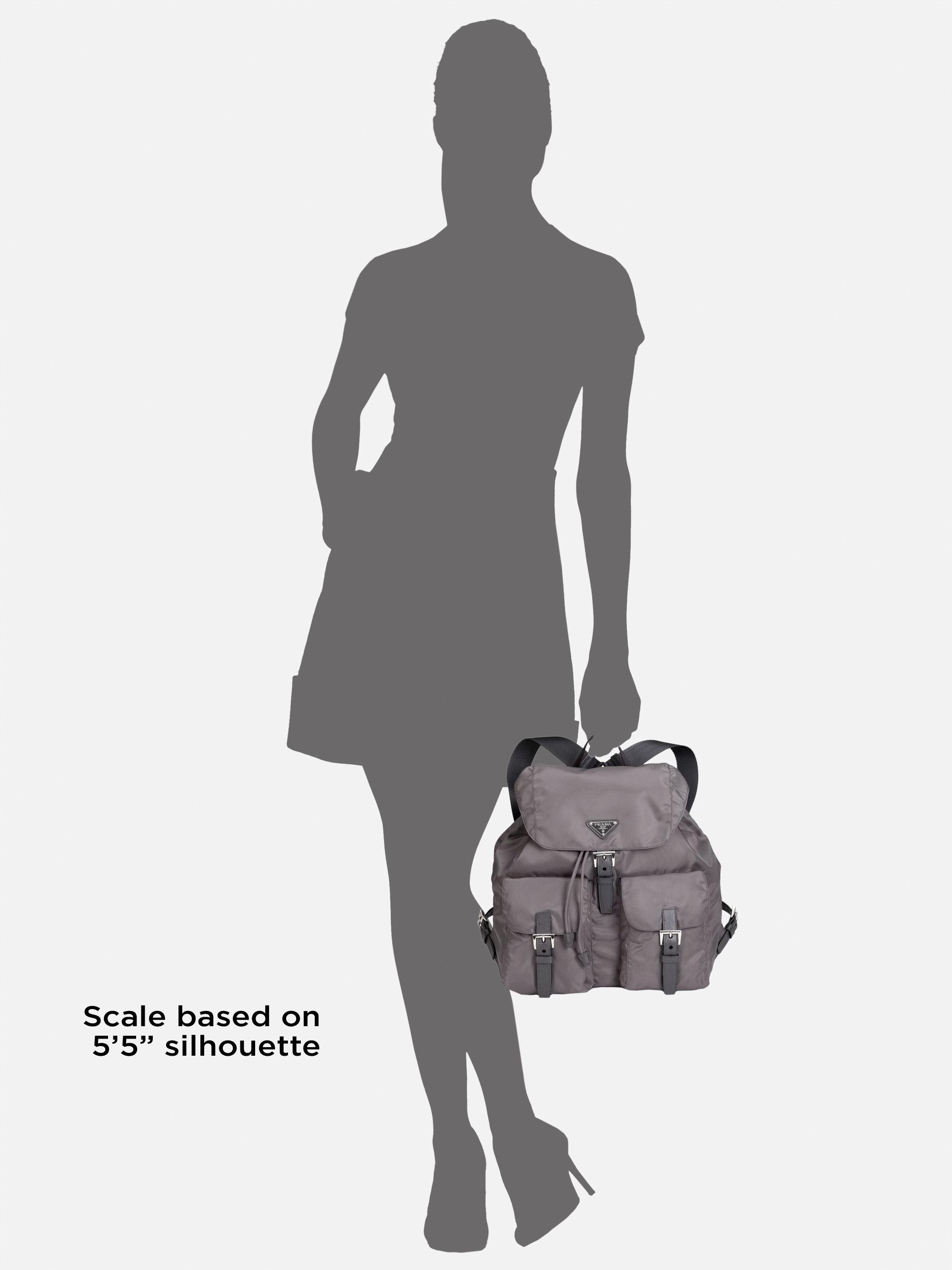 Prada Vela Backpack in Gray (GREY)   Lyst