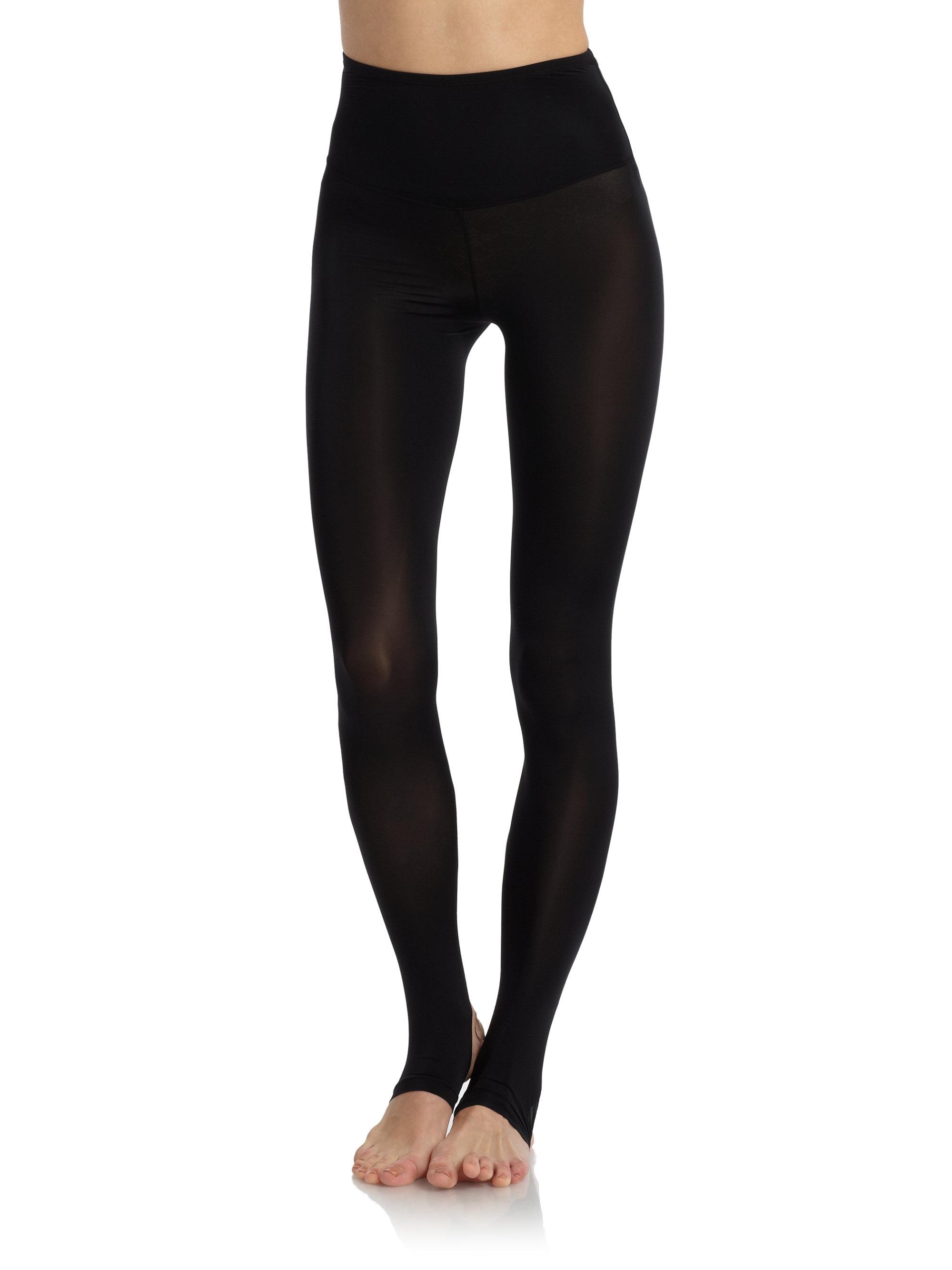 Yummie By Heather Thomson Teagan Stirrup Leggings in Black ...