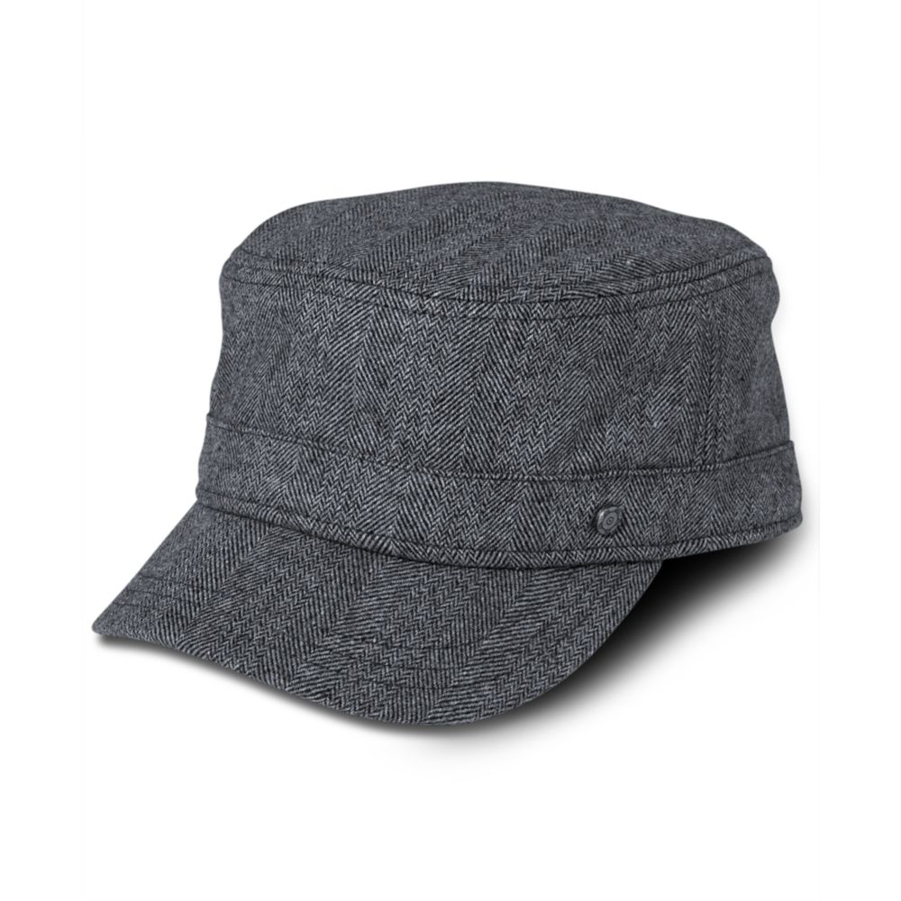 f73327ebeff Lyst - American Rag Grey Tweed Castro Hat in Gray for Men