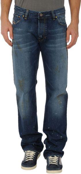 Diesel Denim Pants in Blue for Men - Lyst
