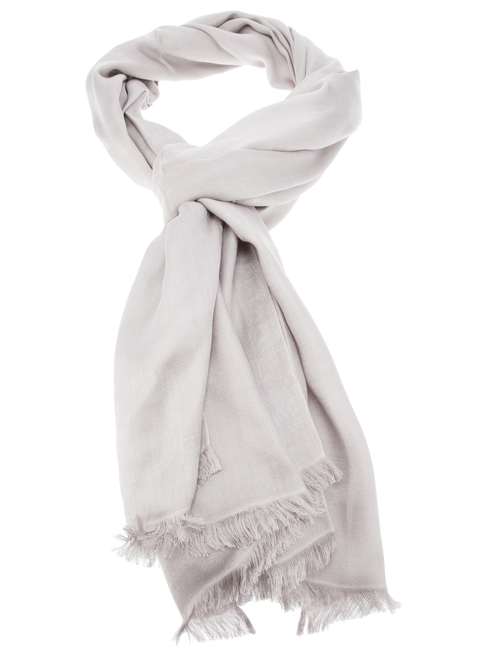 max mara silk scarf in brown taupe lyst