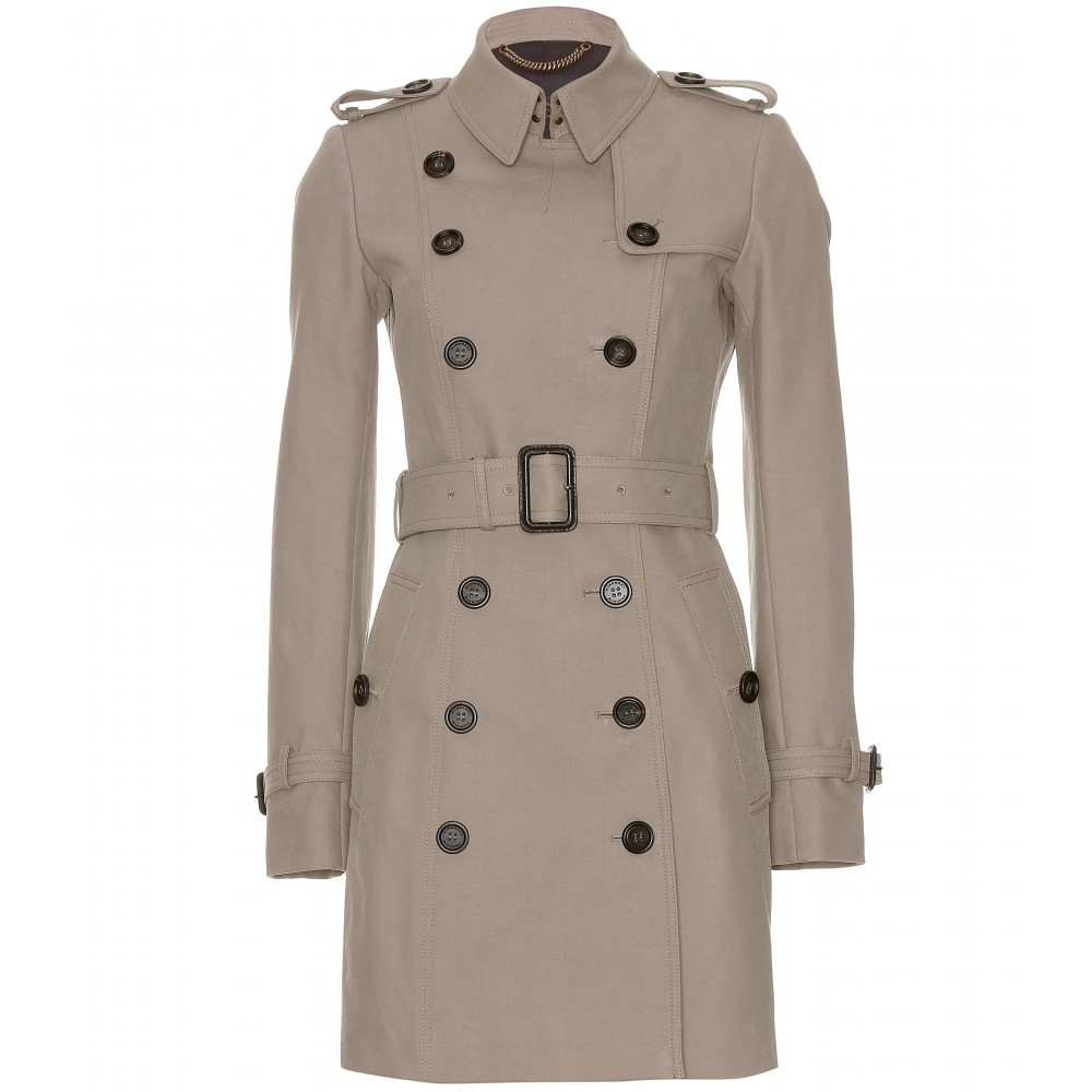 burberry prorsum trench coat in khaki lyst. Black Bedroom Furniture Sets. Home Design Ideas