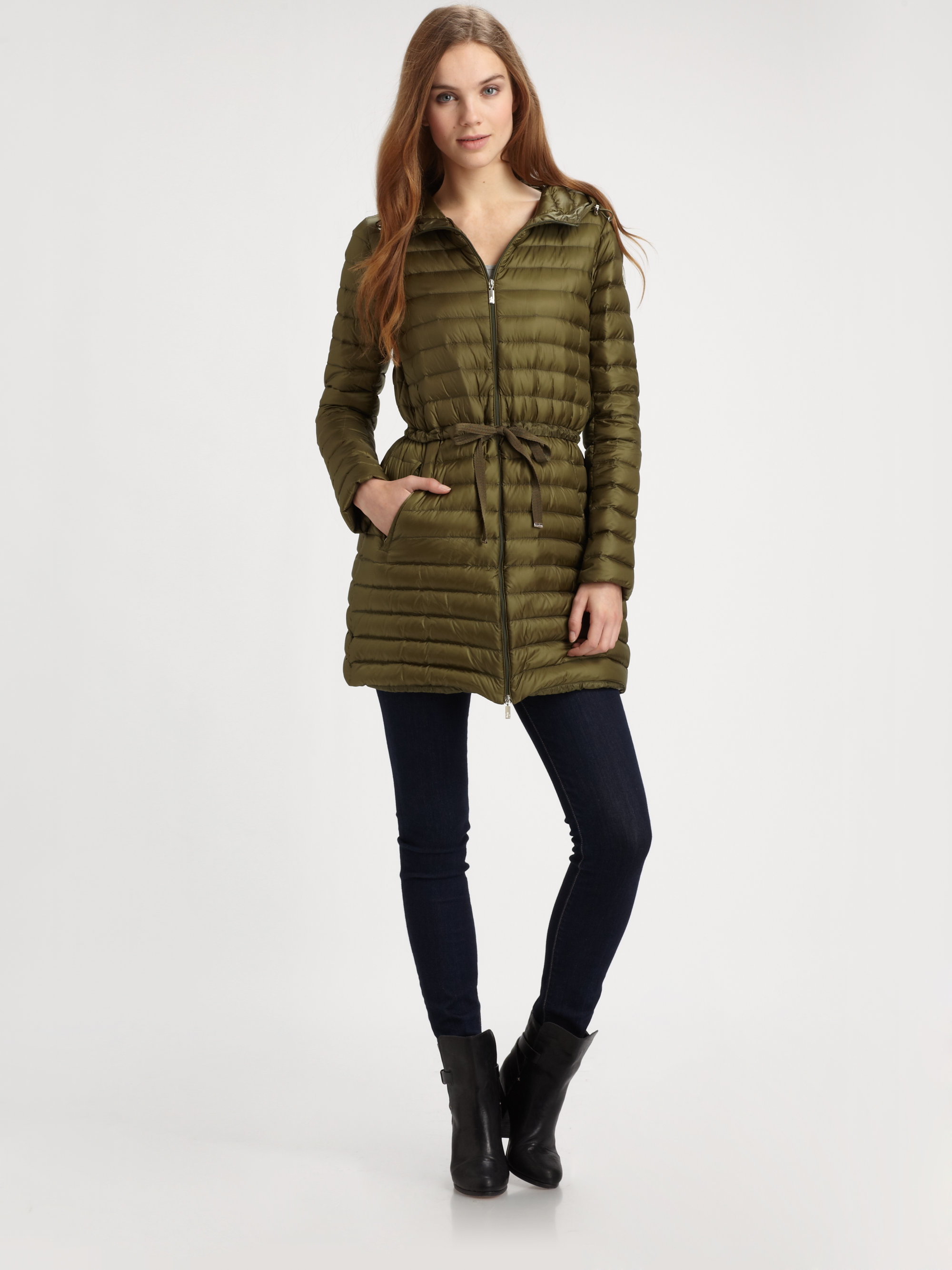 moncler aure longue season jacket