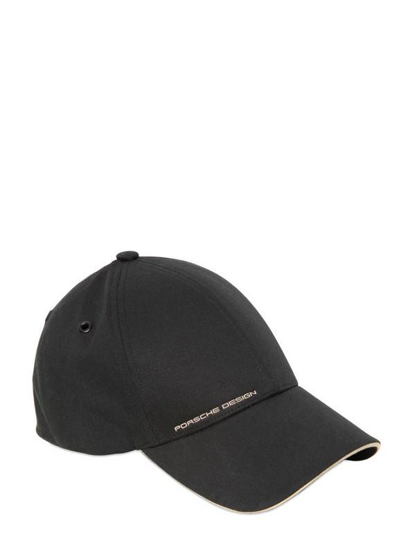 the latest b618e 7571e Porsche Design Stretch Cotton Golf Hat in Black for Men - Lyst