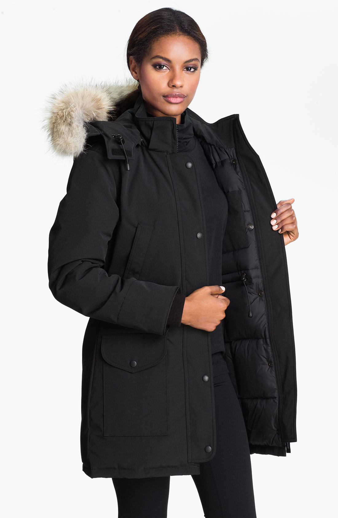 Women goose down coats