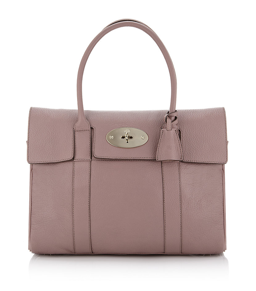 Mulberry bayswater tote in pink blush lyst for The bayswater