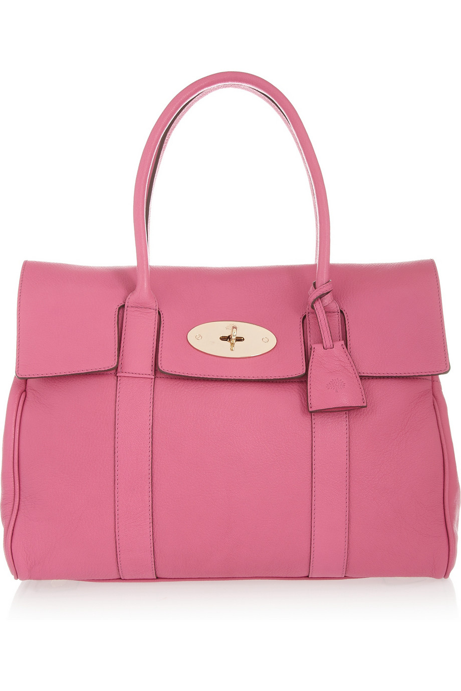 Mulberry the bayswater leather bag in pink raspberry lyst for The bayswater