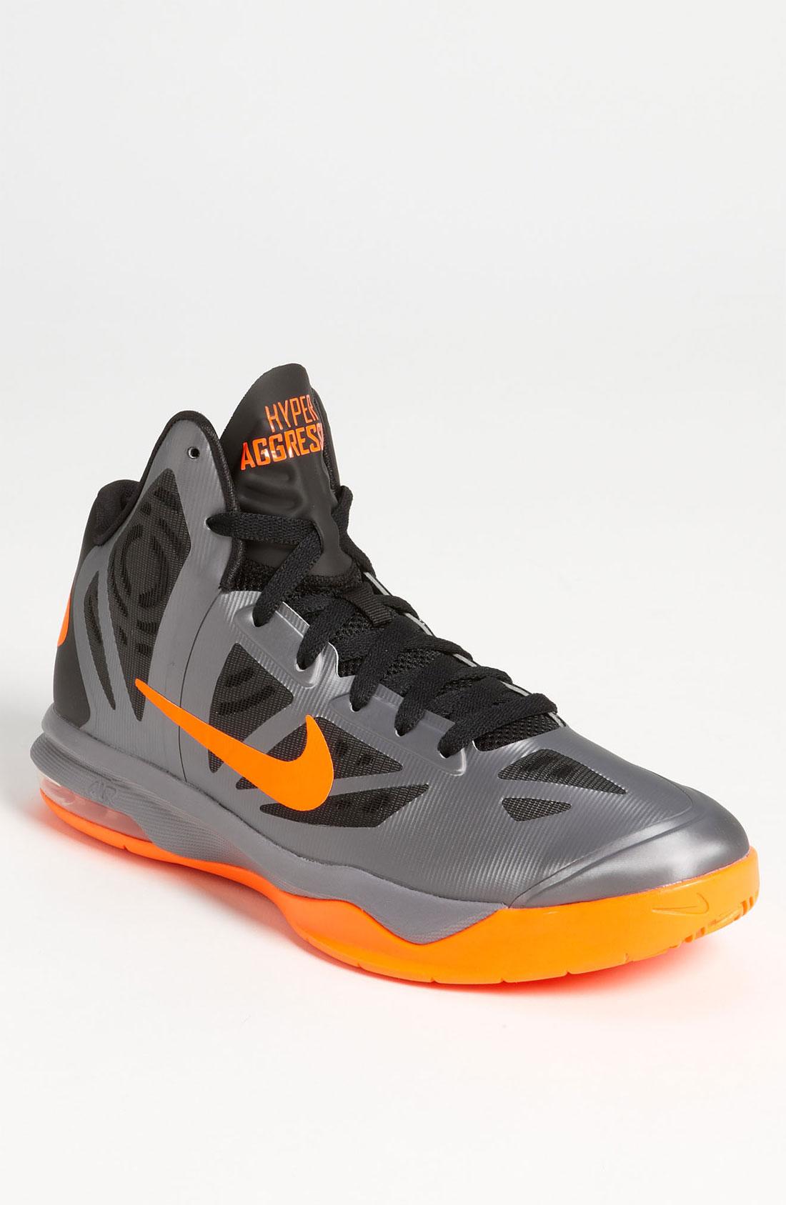 Nike Basketball Shoes 2012 Black Nike Air Max Hyperaggr...
