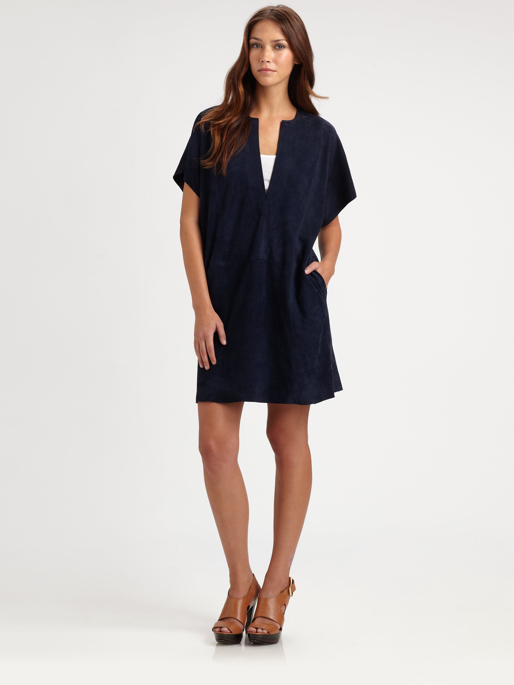 Navy Blue Tunic Dress