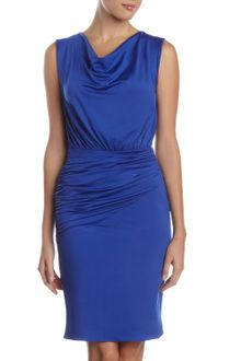 Marc New York By Andrew Marc Drapeneck Dress - Lyst