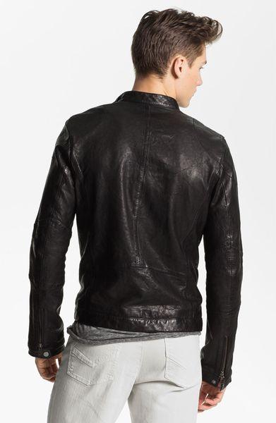 Zadig Amp Voltaire Leather Jacket In Black For Men Lyst