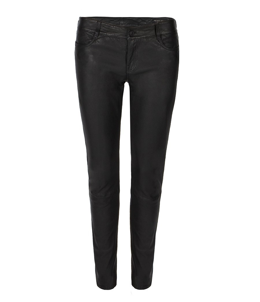 Lyst Allsaints Harrah Pipe Skinny Pant In Black