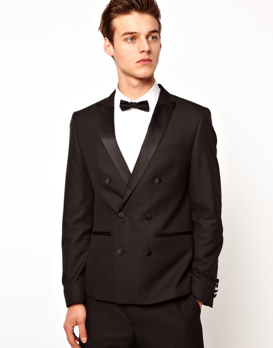 ASOS Skinny Tuxedo Suit Jacket In Red Paisley Velvet - Black LINKSHARE Suit jacket by ASOS, Take that dress code up a level, Fully lined, Notch lapels, Single button opening, Functional pockets, Skinny fit - cut very close to the body.