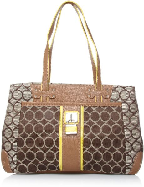 Nine West On Cloud 9 Satchel in Brown
