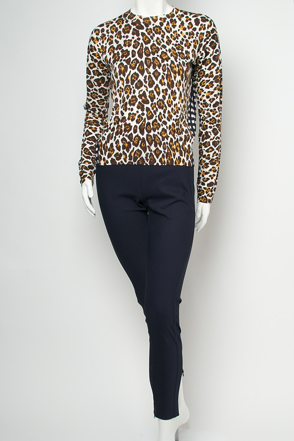 f5671162527 Lyst - Stella Mccartney Animal Print Pullover STELLA MCCARTNEY Silk Angela  Leopard Red Dress - We Select Dresses