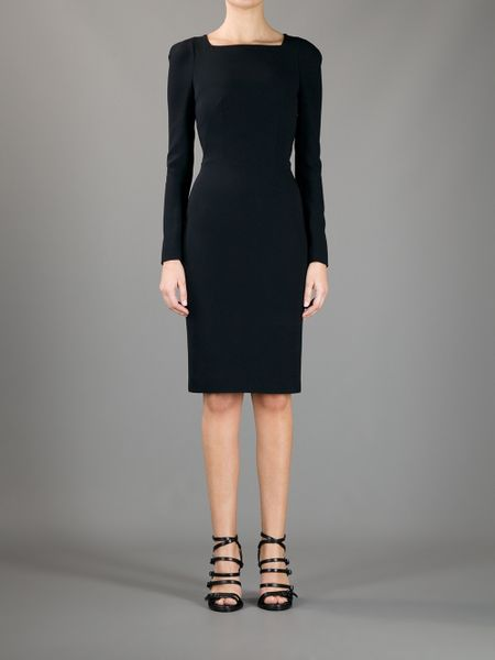 Tom Ford Cutout Dress In Black Lyst