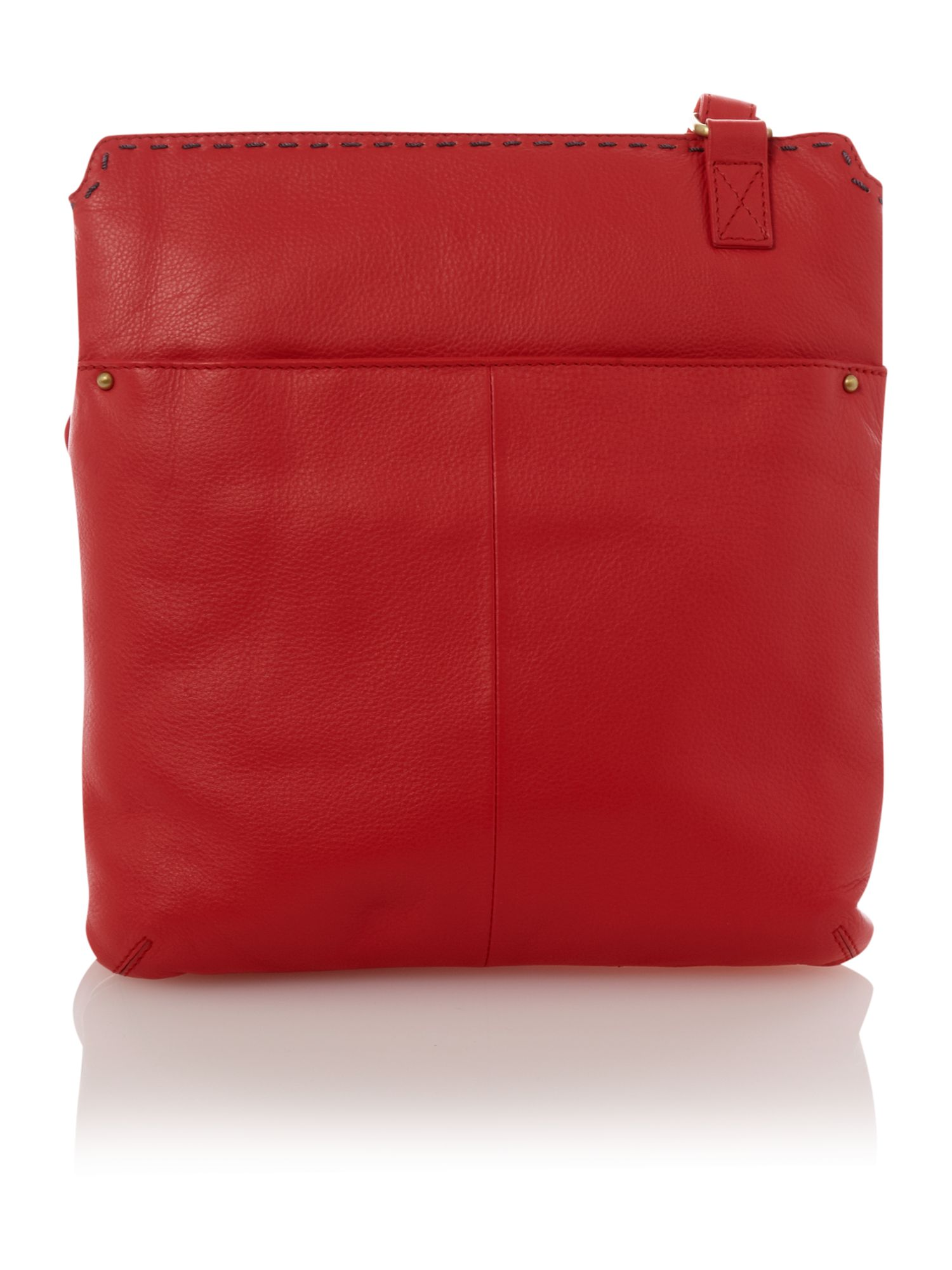Dickins & Jones Yorkshire Small Cross Body Bag in Red