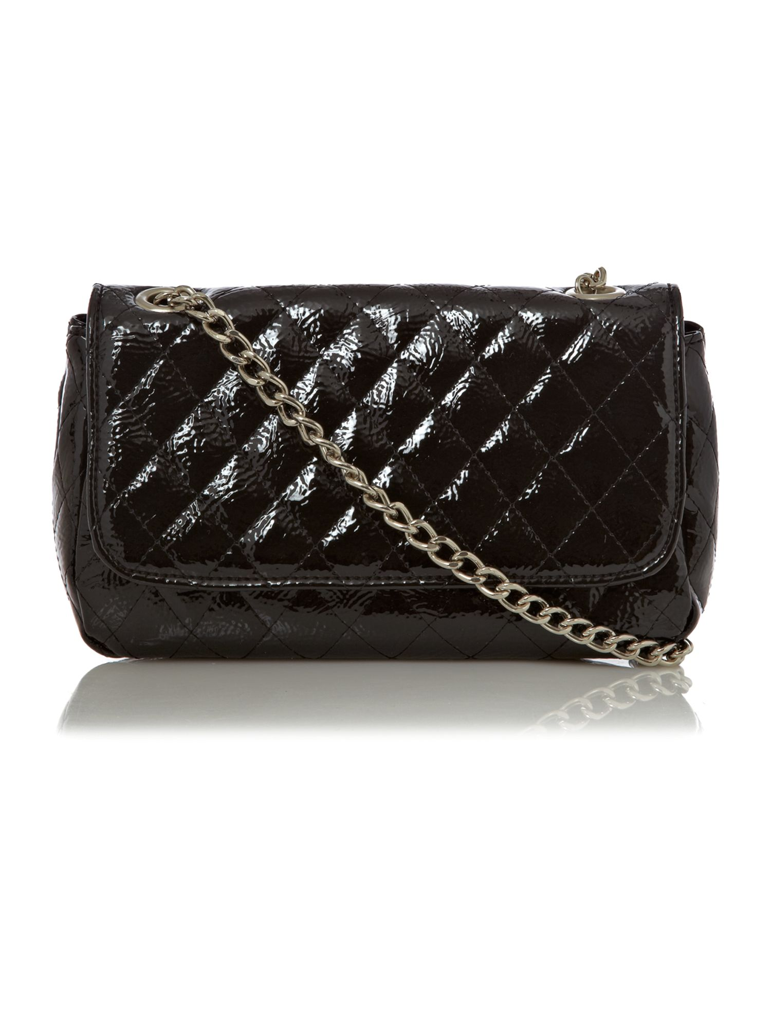 Quilted Crossbody Bag With Chain 60