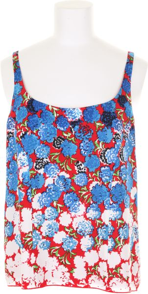 Marc Jacobs Top in Cupro with Floral Pattern in Multicolor (floral)