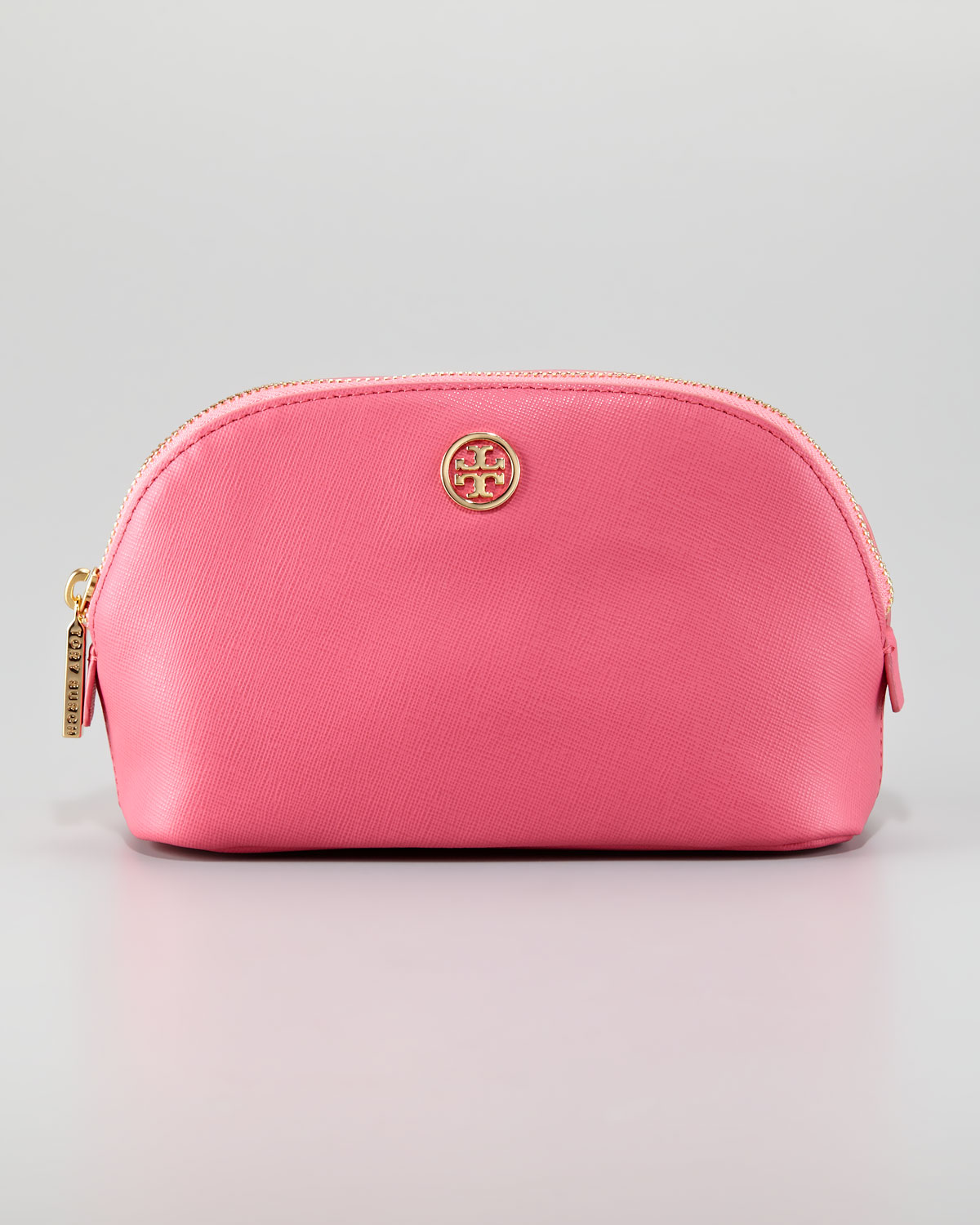 4001fd4f2b35 ... coupon code for lyst tory burch robinson makeup bag in pink 1ef5e cf646