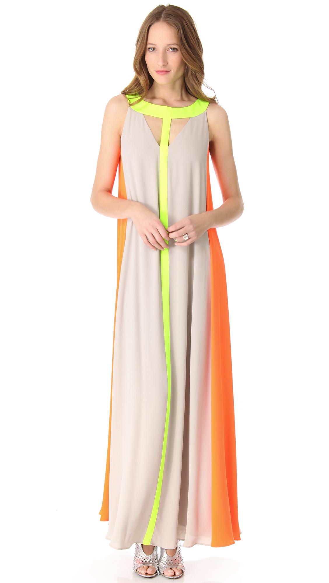 Lyst Bcbgmaxazria Maxi Dress