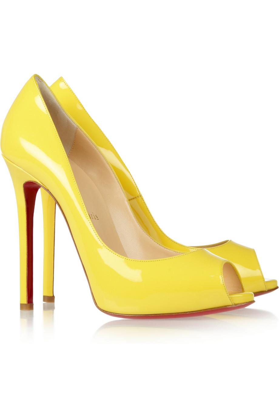 timeless design 1b463 b2d6a christian louboutin yootish peep toe pump, replica christian ...