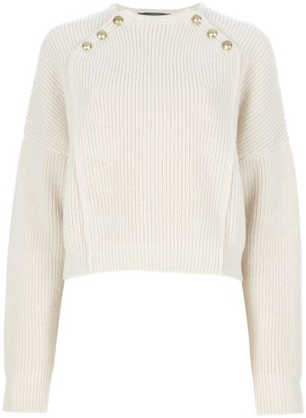 Isabel Marant Ribbed Sweater - Lyst