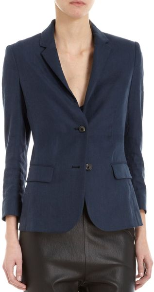 The Row Comlad Blazer in Blue