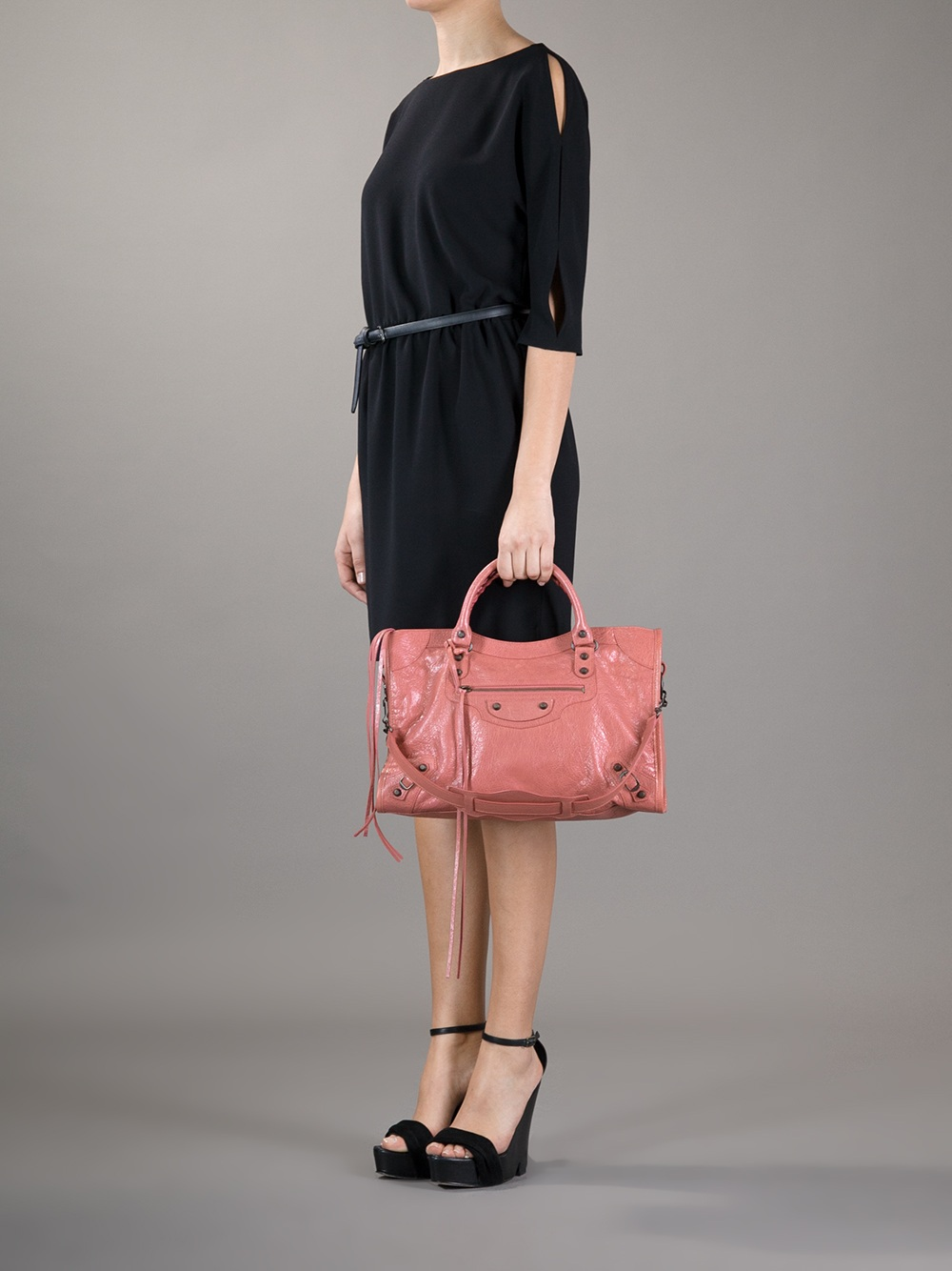 Balenciaga Classic City Tote in Rose (Pink)