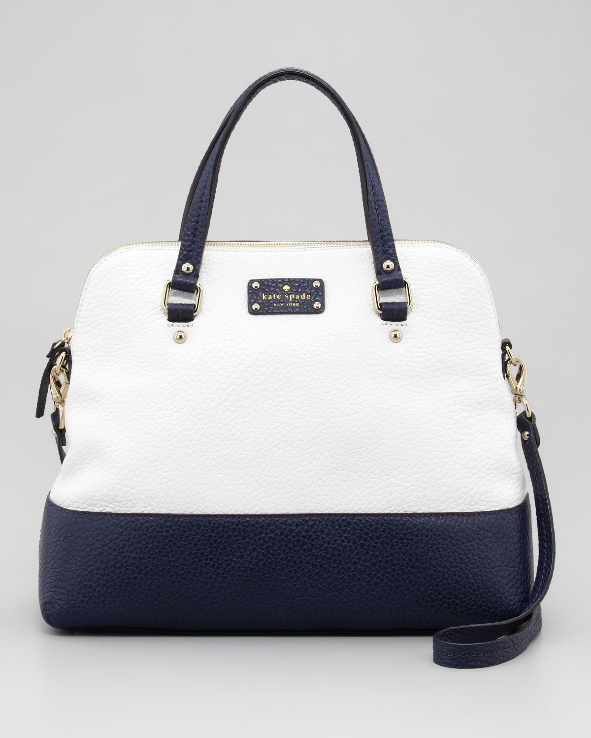 Kate Spade Purse Blue And White Best Image Ccdbb