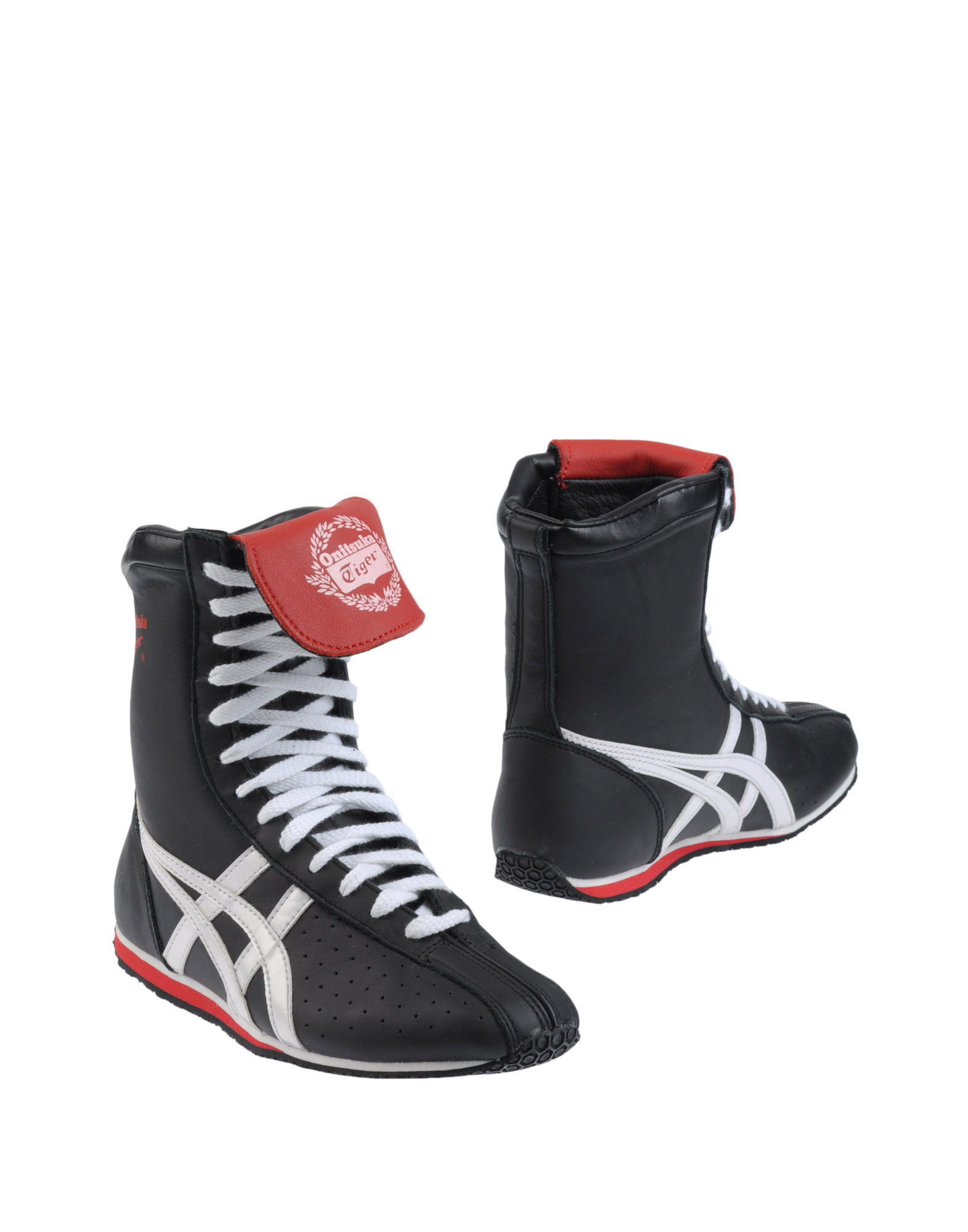 Onitsuka Tiger High Top Sneakers In Black Lead Lyst