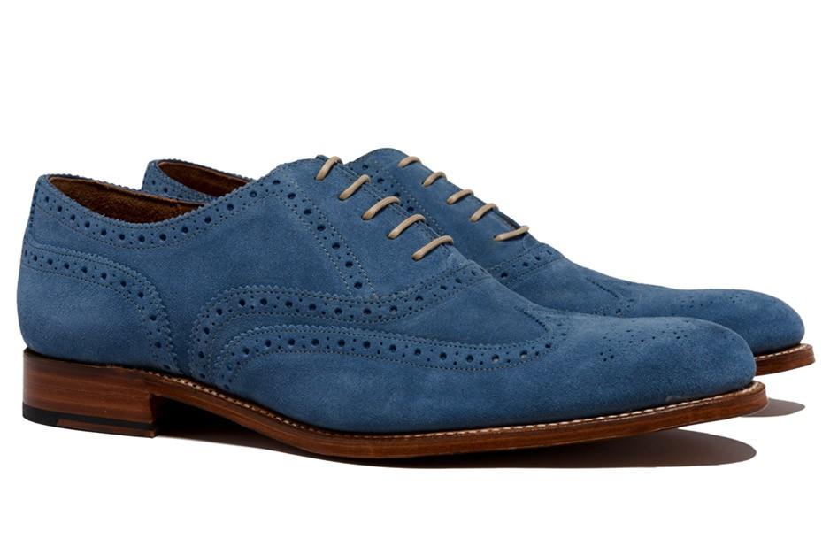 Alfani Blue Suede Shoes