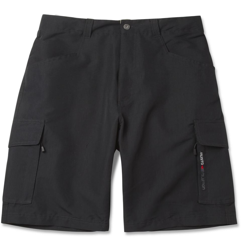 Musto Sailing Evolution Waterproof Shorts In Black For Men