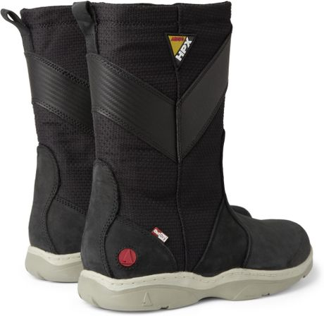 Musto Sailing Hpx Leather And Canvas Sailing Boots In
