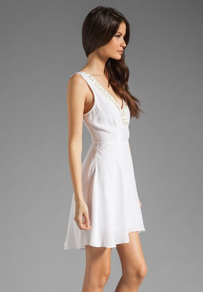 Plenty By Tracy Reese Solid Silk Embellished Slip Dress In