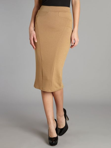 Camel Colored Skirt