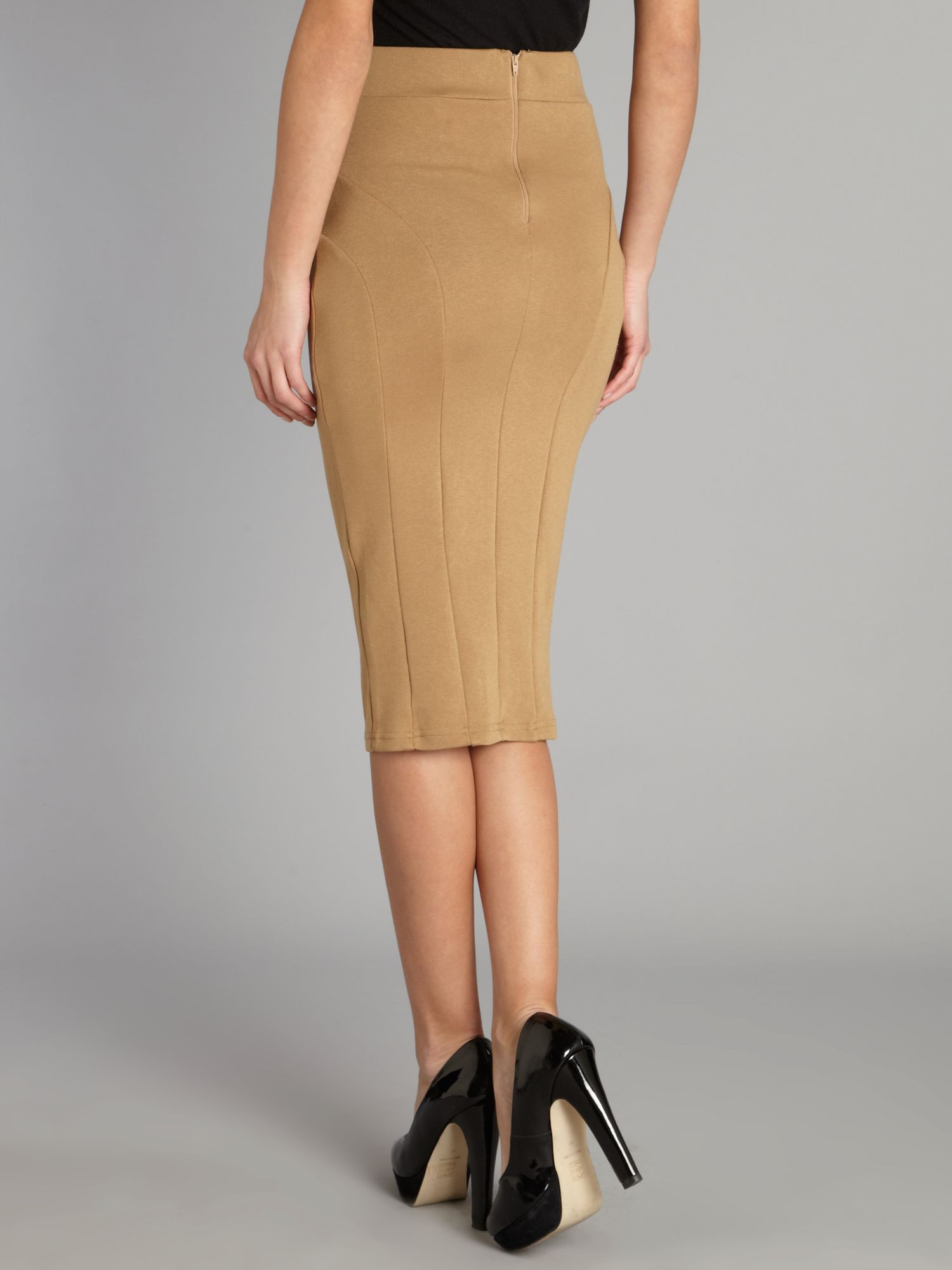 Camel brown pencil skirt – Modern skirts blog for you