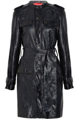 Lanvin Coated Texturedleather Jacket