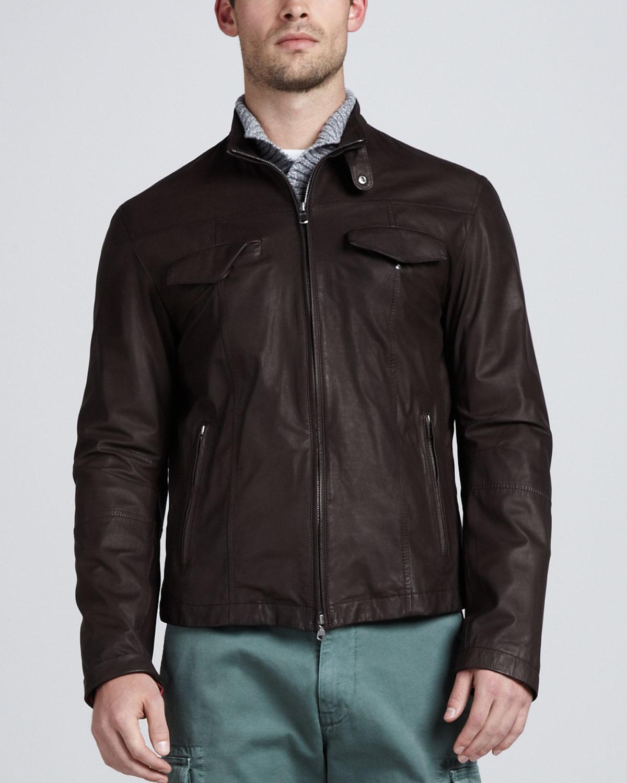 Chocolate brown bomber jacket – Modern fashion jacket photo blog
