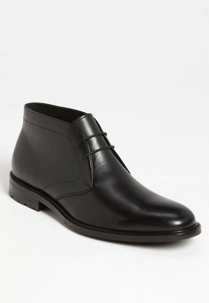 Gordon Rush Thompson Chukka Boot In Black For Men Lyst