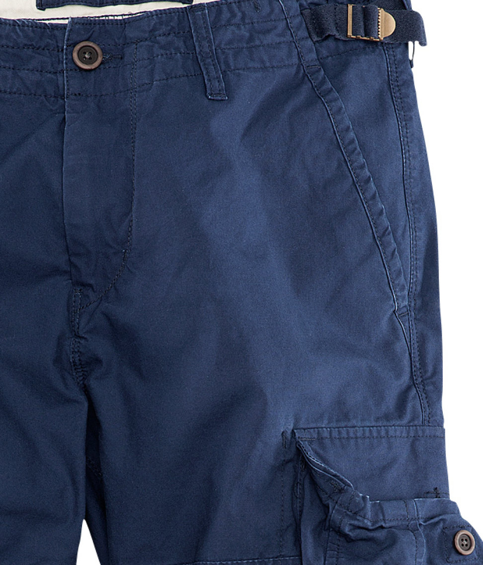 H&m Cargo Pants in Blue for Men | Lyst