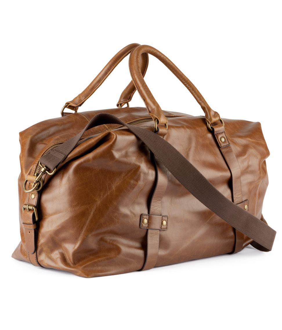 Lyst H Amp M Duffle Bag In Brown For Men