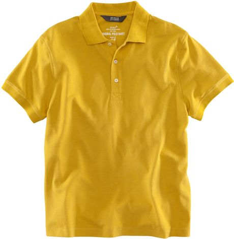 H m polo shirt in yellow for men mustard lyst for H m polo shirt mens