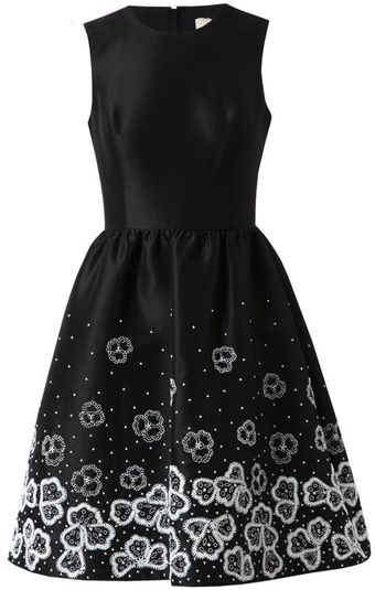Jason Wu Embellished Silk Dress - Lyst