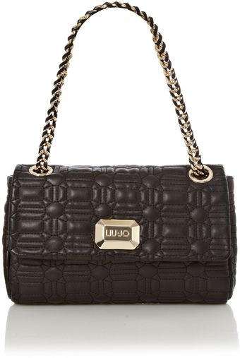 Liu Jo Flavia Quilted Shoulder Bag - Lyst