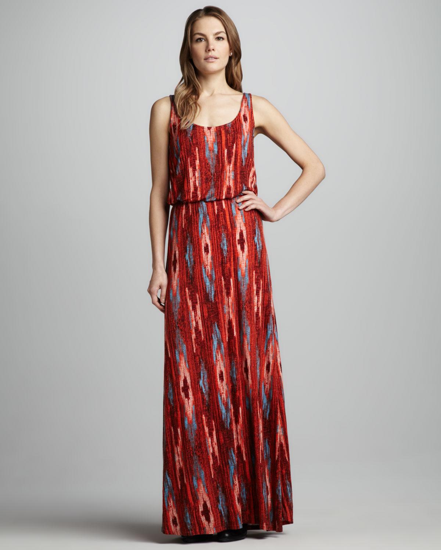 Ella moss Santa Fe Maxi Dress in Red | Lyst