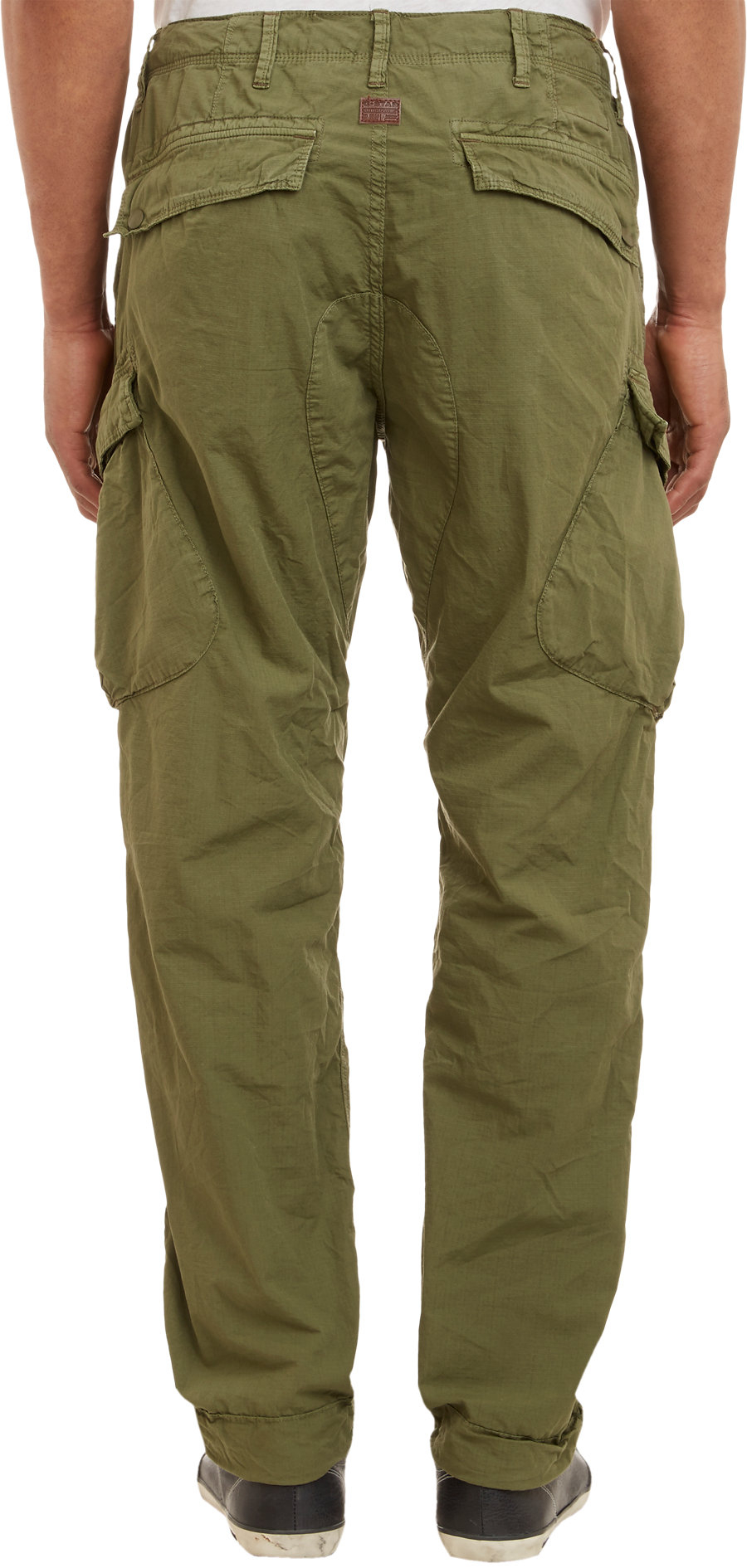 Lyst G Star Raw Rovic Tapered Cargo Pants Olive In Green