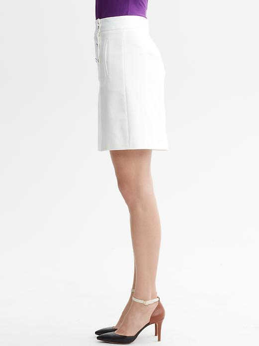 Banana Republic Sailor Skirt In White Lyst