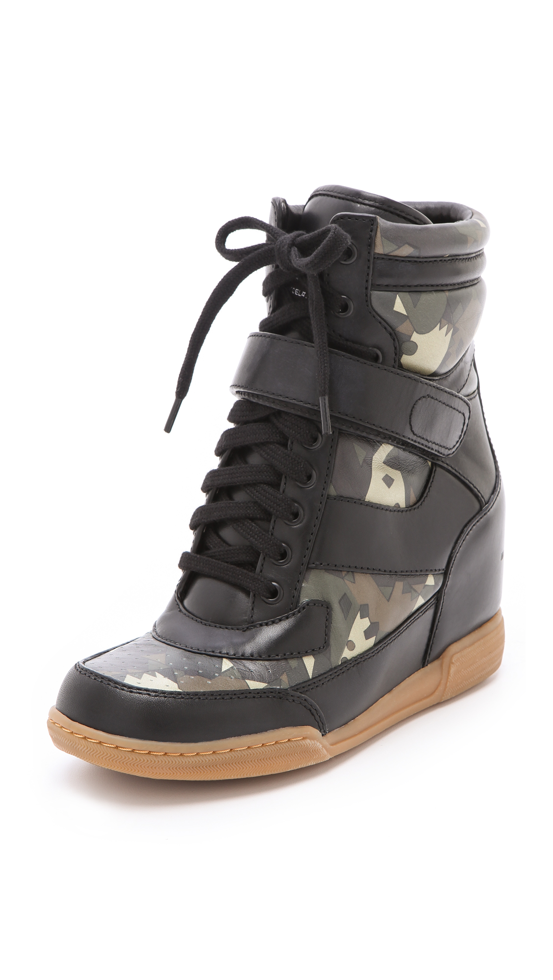 d8aa27f406b9 Gallery. Previously sold at  Shopbop · Women s Wedge Sneakers Women s Camo  ...