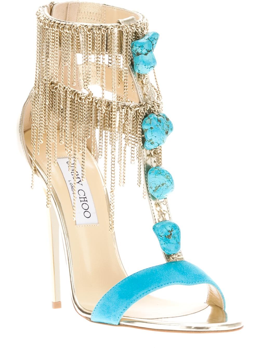 dc7aaaa921ea Shoeniverse  JIMMY CHOO Blue Belle Sandal